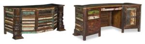 Designer Schreibtisch aus Holz