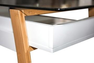 bonvivo designer schreibtisch massimo moderner sekret r. Black Bedroom Furniture Sets. Home Design Ideas