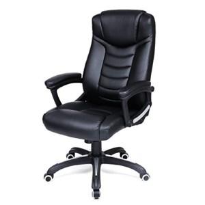 Chefsessel schwarz, Bürostuhl, Schreibtischstuhl