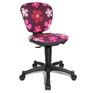 Schreibtischstuhl Mädchen - Blumen