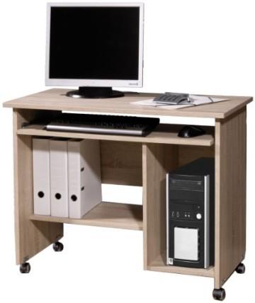 Schreibtisch mit Rollen