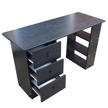 Schreibtisch schwarz