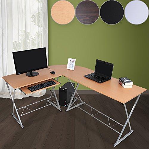 Schreibtisch winkelschreibtisch eckschreibtisch for Schreibtisch thales